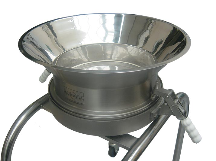 batch sieving industrial screener