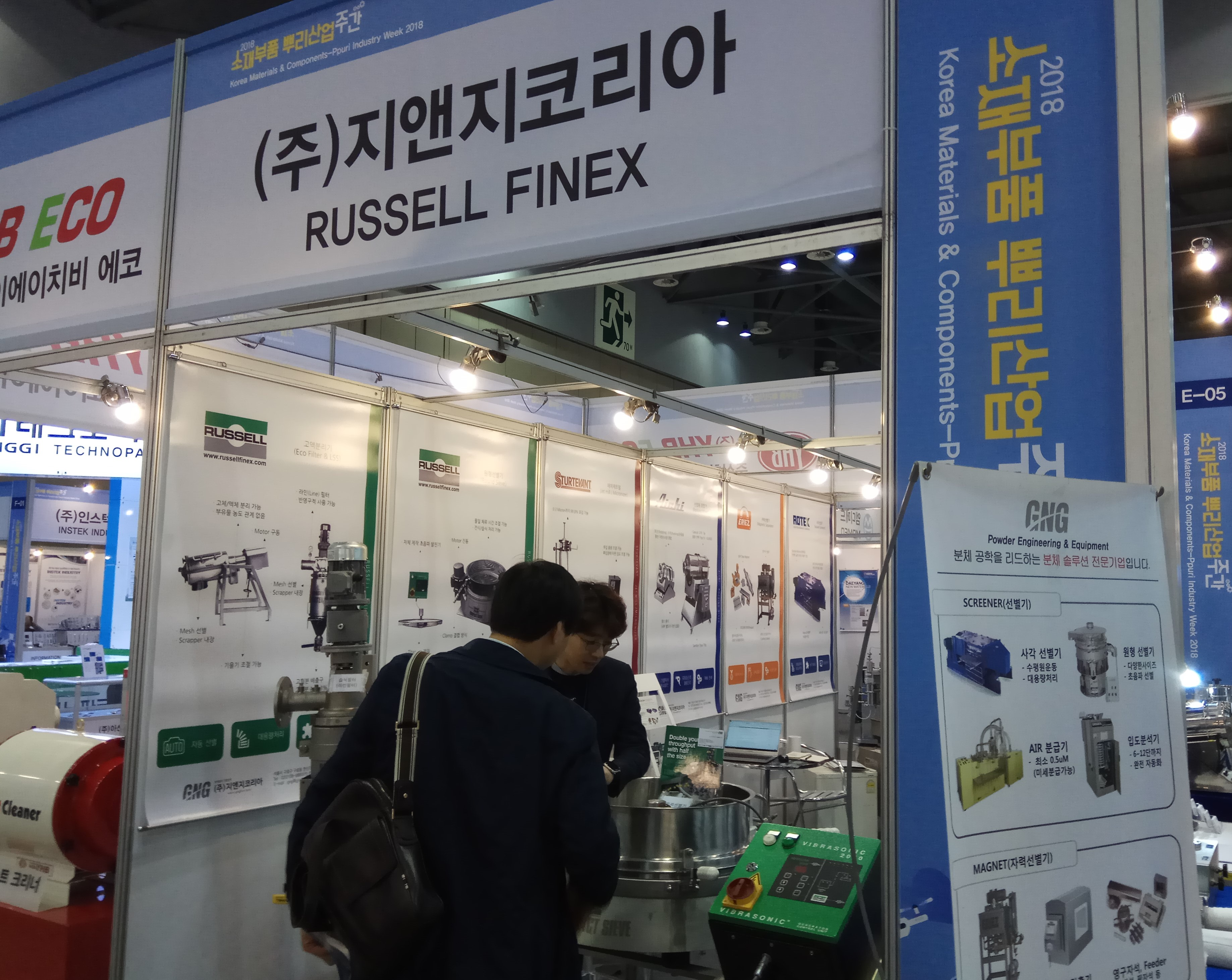 Korea Materials and Components 2018 Russell Finex