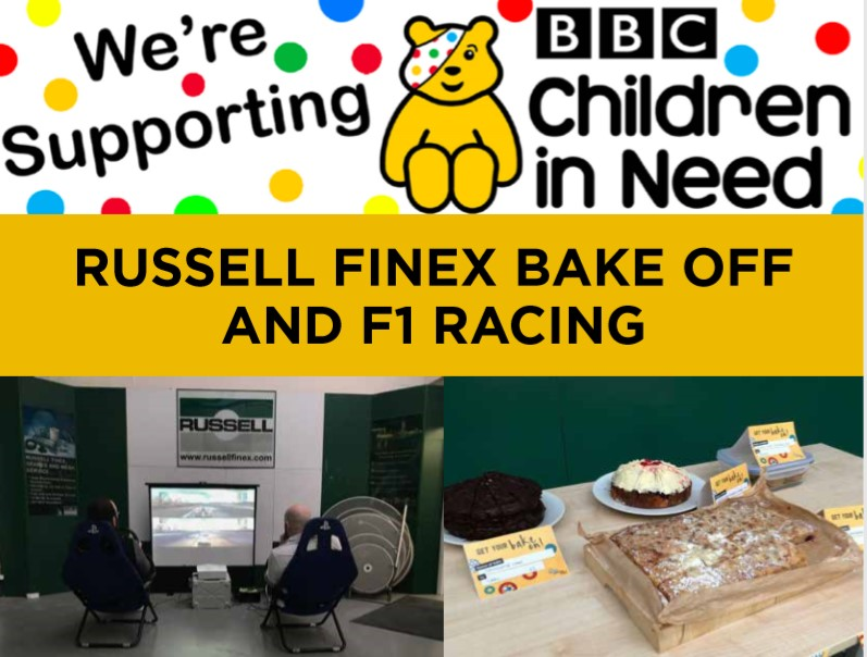 BBC Children in Need Russell Finex