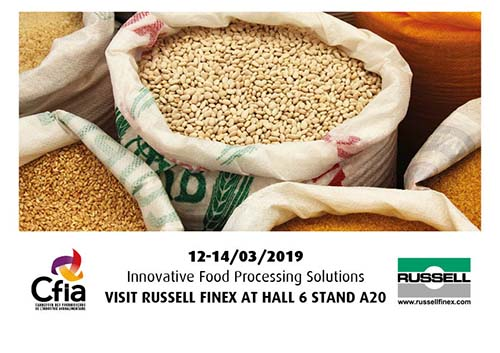 Russell Finex at CFIA Rennes 2019