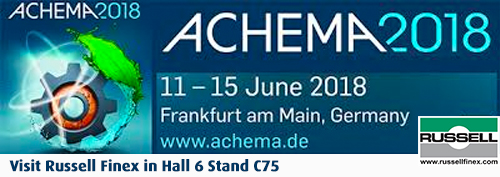Industrial separation equipment at Achema 2018