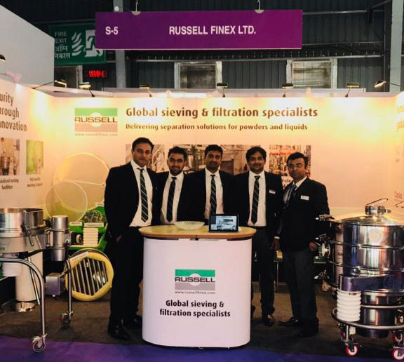 Russell Finex Specialists at P-MEC