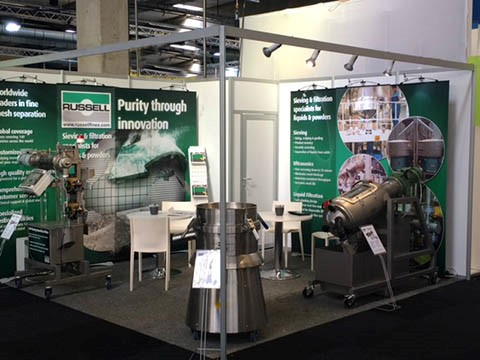 industrial screeners and filters at Pumps and Valves 2016