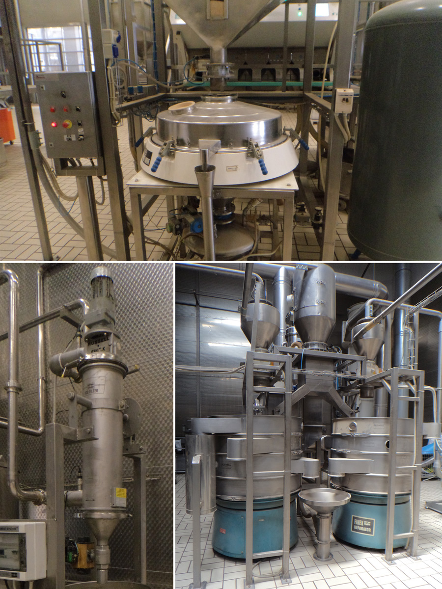 Automated food separation solutions for sesame products