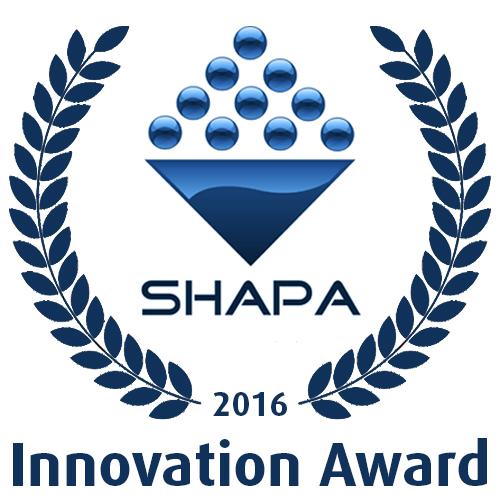Prêmio SHAPA Innovation Award 2016 para o Russell Screen Changer
