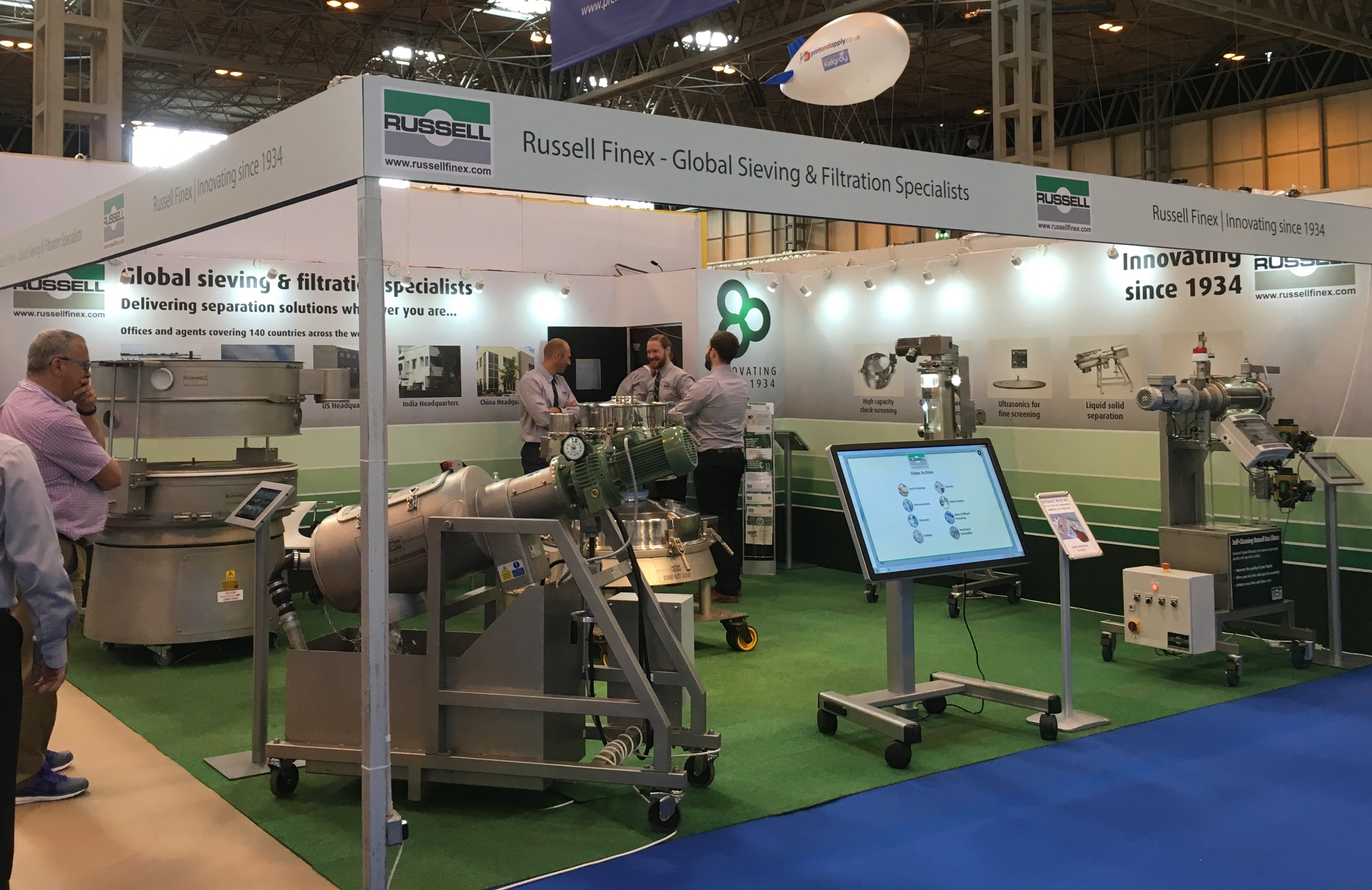 PPMA Show 2017 Sieves Filters