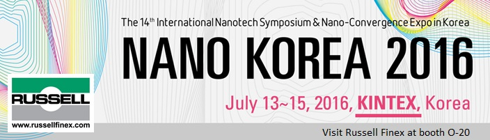 NANO Korea 2016 nanotechnology separation equipment