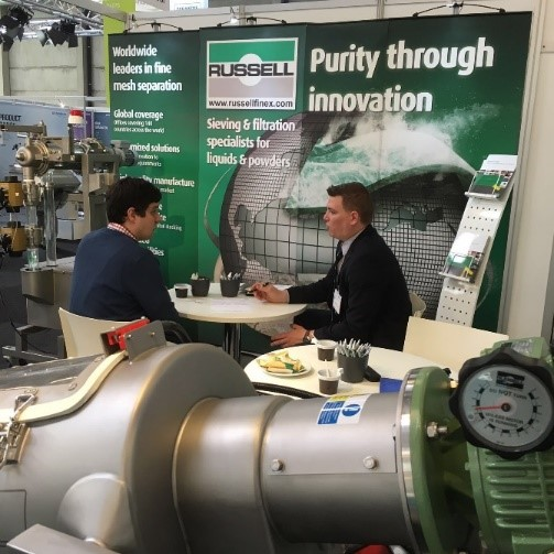 Russell Finex op Pumps & Valves 2016