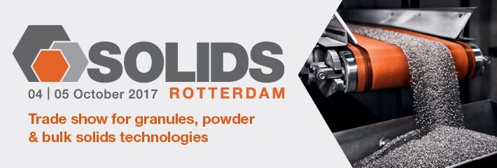 Powder separation technology at Solids Rotterdam 2017