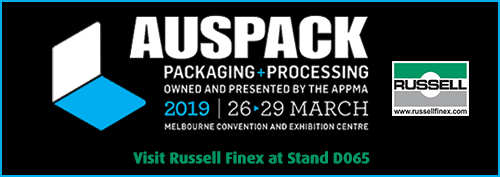 Packaging and Processing Exhibition 2019 Russell Finex
