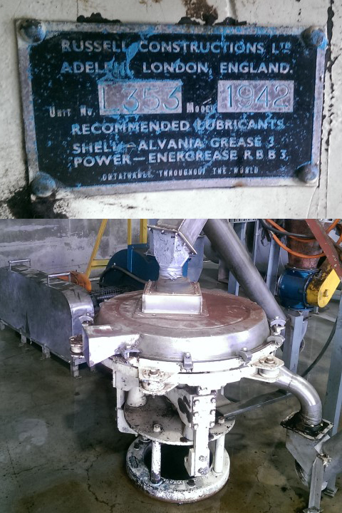 Russell Finex Old Vibratory Food Screener for Meat Products