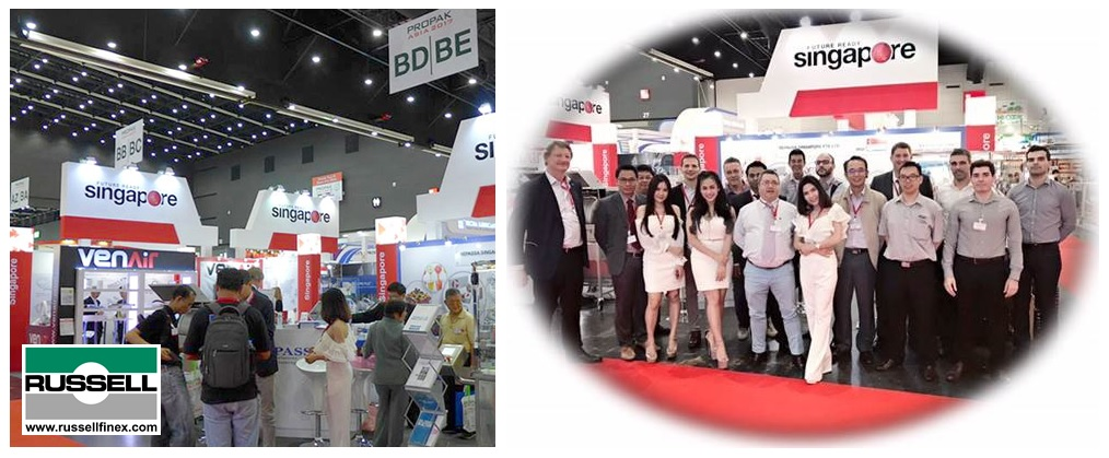 ProPak Asia Russell Finex Thailand Food and Pharma Industries