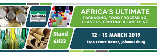 Processing and Packaging Exhibition 2019 Russell Finex
