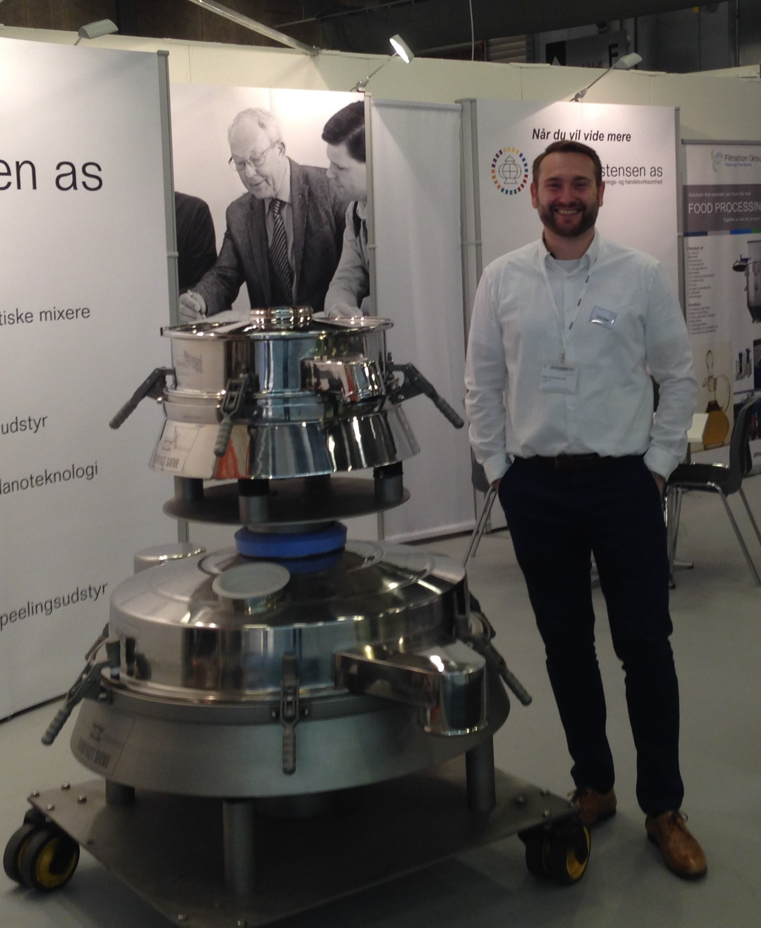 Russell Finex machines at FoodTech Denmark 2018