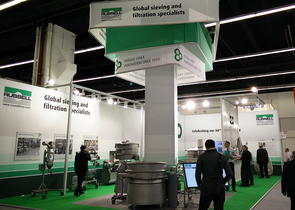 Russell Finex Separation Equipment at Achema 2015