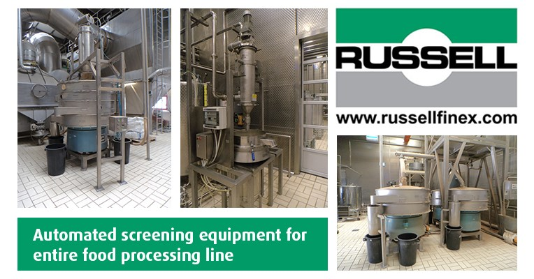 Automated Food Processing Equipment | Russell Finex