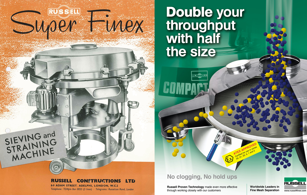 Comparing the Super Finex and Russell Compact Sieve