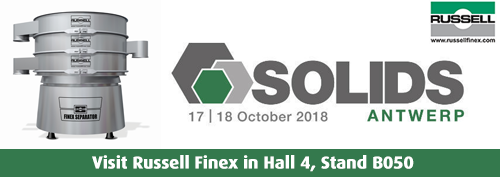 Solids Antwerp 2018 Russell Finex