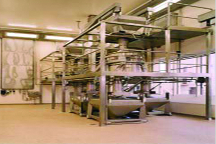 Pharmaceutical Powder screeners at Kling Pharma