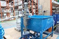 Filtering Liquid Emulsion at Flexcrete