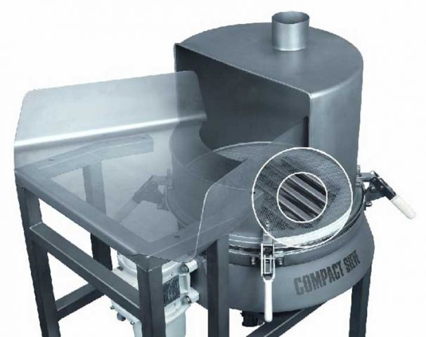 Sack tip station Russell Compact 3in1 Sieve