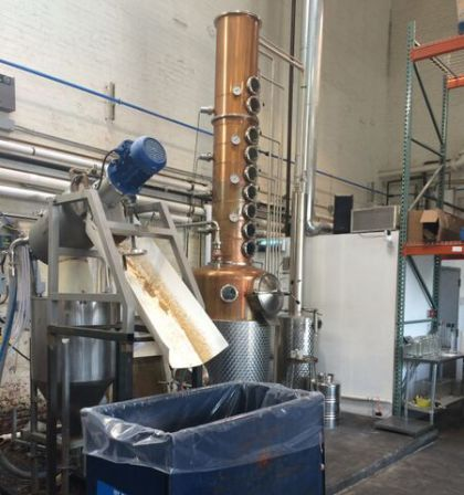 Centrifugal Separator for Distilling Industry