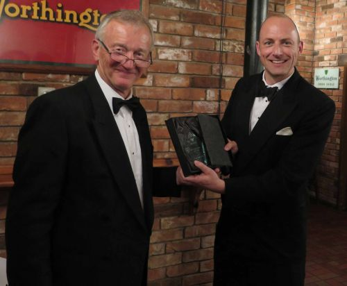 Sieving and Filtration Specialists Russell Finex receiving SHAPA's Exporter of the Year Award
