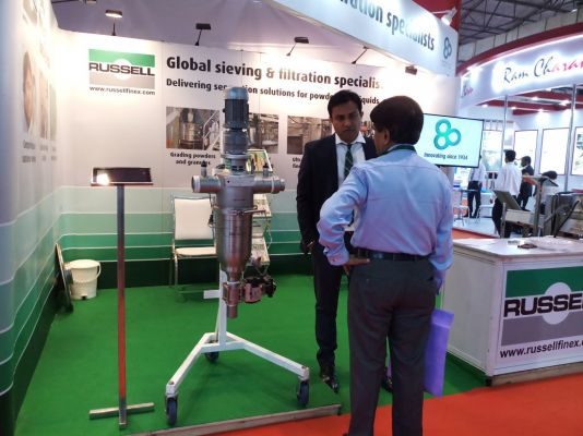 russell finex at paint india 2018