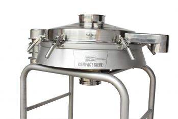 Vibratory screener Russell compact sieve