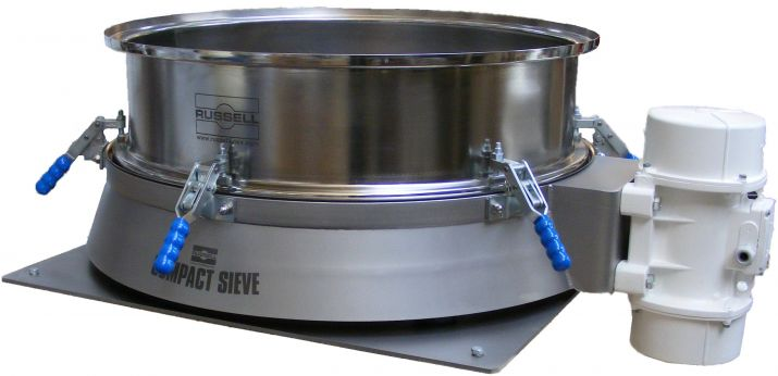 Stainless steel vibratory sieve
