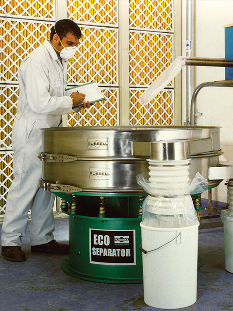 Gyratory Sifters Sieving Exo Seperator