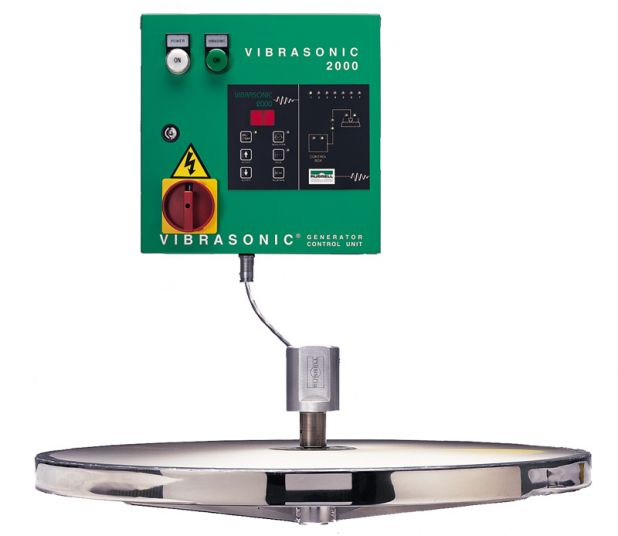 Vibrasonic Deblinding System for ultrasonic cleaning